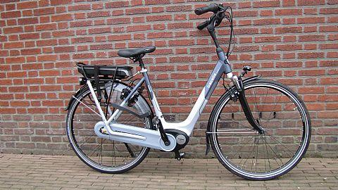 E-bike met middenmotor / Elektrofahrrad